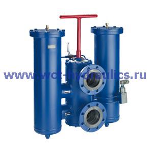 Двойной фильтр с фильтроэлементом согласно DIN 24550 100 FLD(N)