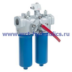 Двойной фильтр с фильтроэлементом согласно DIN 24550 150LD(N)