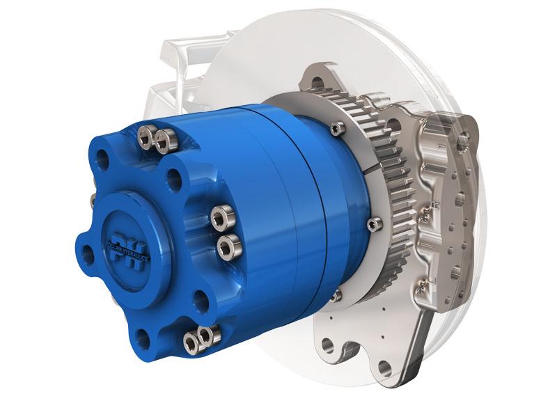 Кулачковый гидромотор серии MF01
