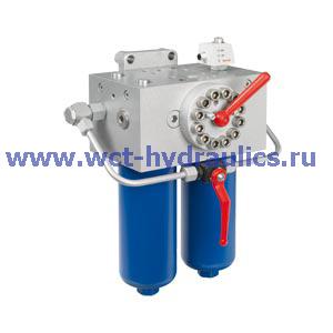 Двойной фильтр с фильтроэлементом согласно DIN 24550 400LD(N)