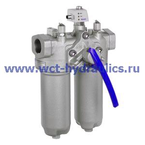 Двойной фильтр с фильтроэлементом согласно DIN 24550 50LD(N)