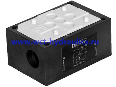 Монтажная плита с перепускным предохранительным клапаном RM4-MP