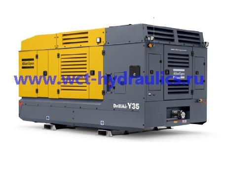 Компрессоры передвижные большой мощности серии DrillAir Y35/V39™: Компрессоры передвижные большой мощности
