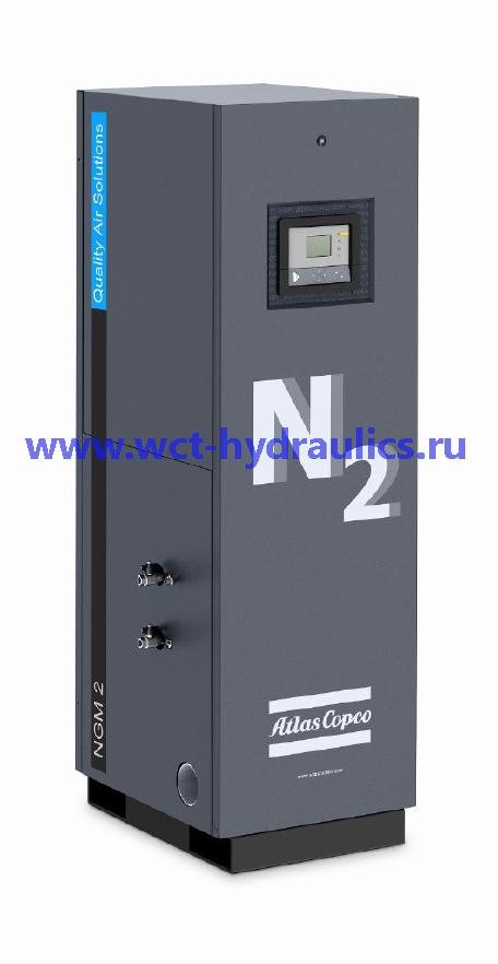 NGM 1-7: Мембранные генераторы азота, производительность 1,4-140 л/с или 5-500 Нм³/ч, чистота 95-99%