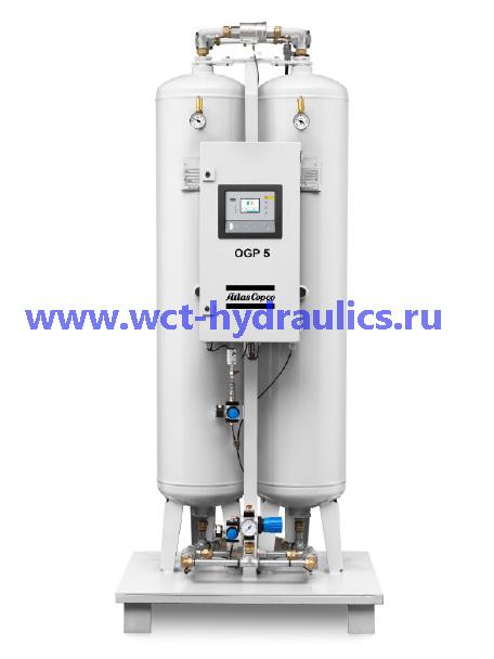 Серия OGP: Кислородные генераторы PSA, производительность 0,6-56 л/с, поток 2-200 Нм³/ч, чистота 90-95%