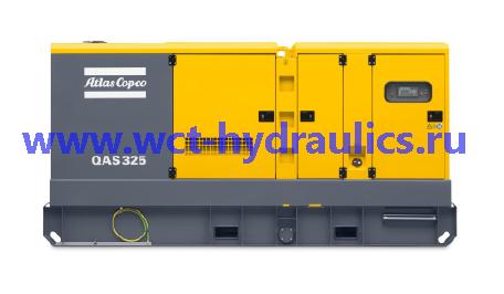 Передвижные генераторы 325-630 кВА линейки QAS: Линейка QAS