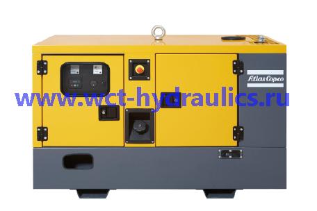 Передвижные генераторы 9-40 кВА линейки QES: Линейка QES