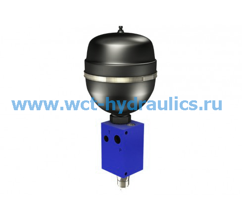 Клапан зарядки аккумулятора серии VB-100-4.