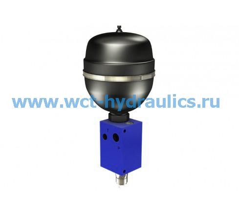 Клапан зарядки аккумулятора серии VB-100-6.