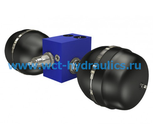 Клапан зарядки аккумулятора серии VB-200-4.
