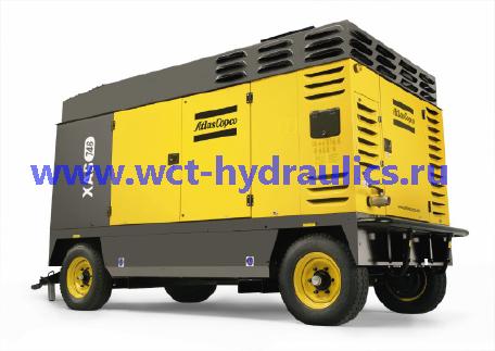Компрессоры передвижные большой мощности: производительность 19,7–45,2 м³/мин: давление 7–25 бар - модели X(A,R)(M,T,H,V)S 336-746