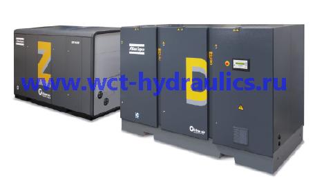 ZD: Безмасляные компрессоры с винтовыми и поршневыми ступенями сжатия, до 40 бар (580 фунтов/кв. дюйм (абс.)), 136-770 кВт/ 182-1032 л.с.