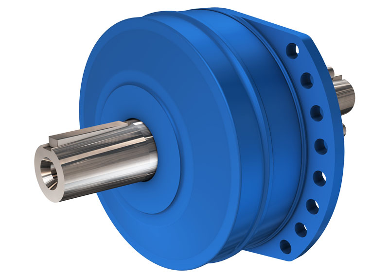 Гидромотор с двойным валом серии MP35