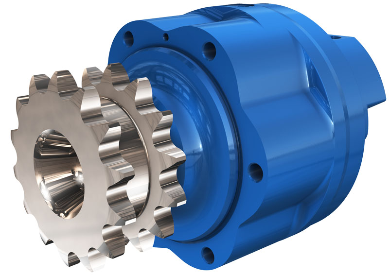 Гидромотор серии ML/MLE06 с цепным приводом