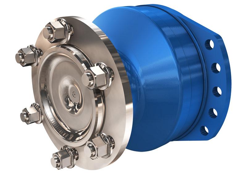 Гидромотор многоцелевого использования серии MS/MSE18