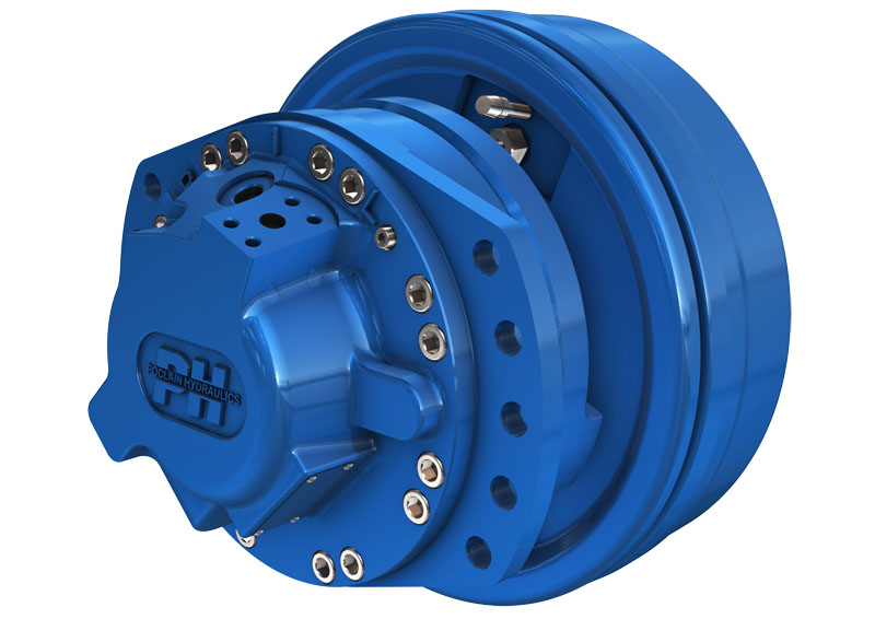 Гидромотор многоцелевого использования серии MS/MSE08
