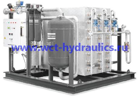 Мембранный генератор азота NGM(E): Прооизводительность по азоту на выходе: 50 - 2000 Нм3/ч, | Чистота азота: 98-99,9999% | Производительность: 15,61 л/с - 1561,5 л/с