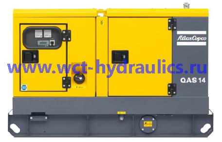 Передвижные генераторы 14-40 кВА линейки QAS: Линейка QAS