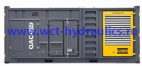 Помещенные в контейнер передвижные генераторы 1250 кВА линейки QAC: Линейка QAC