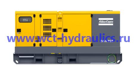 Передвижные генераторы 125-250 кВА линейки QAS: Линейка QAS