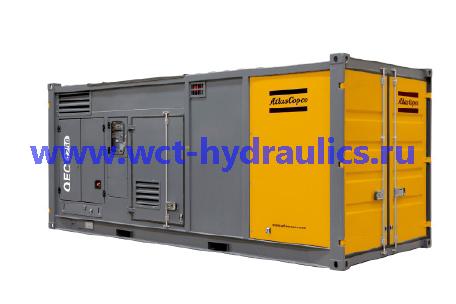 Генераторы 800-1250 кВА линейки QEC, в контейнере: Линейка QEC