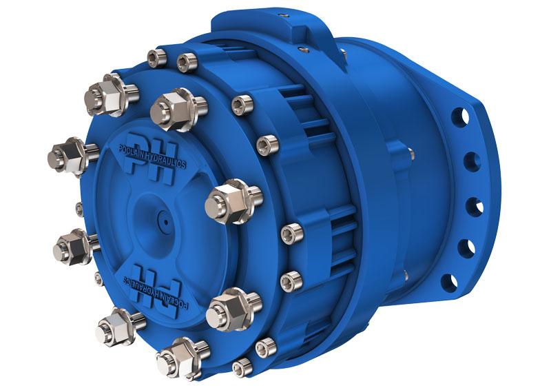 Гидромотор с 3 или 4 рабочими объёмами серии MW24