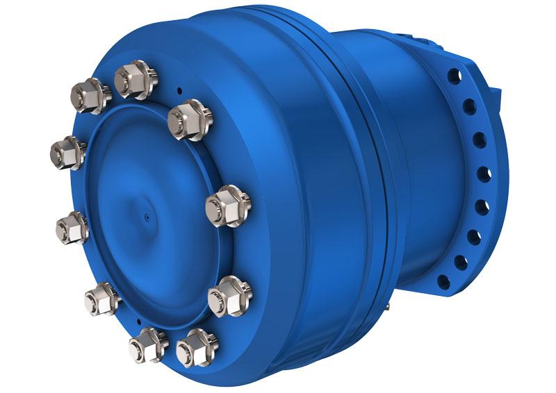 Гидромотор с 3 или 4 рабочими объёмами серии MW50