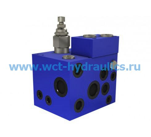 Тормозной клапан трактора с прицепом серии VFR-0HX
